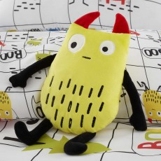 Cosatto Monster Mob Cushion 30cm x 30cm Multi-Coloured