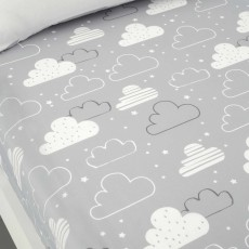 Cosatto Fairy Clouds Single Fitted Sheet (Twin Pack) Multi-Coloured