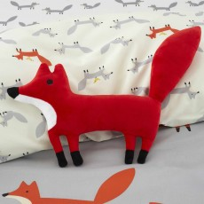 Cosatto Mister Fox Cushion 30cm x 30cm Red