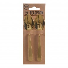Teaspoon (Set Of 2) Gold
