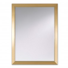 Deknudt Bremen Rectangle Wall Mirror Gold