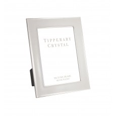 "Tipperary Crystal Classic Grey Enamel 8"" x 10"" Photo Frame"