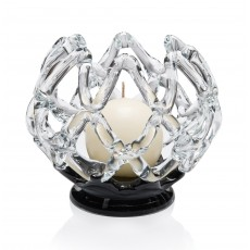 Newgrange Living iNet 16cm Ball Candleholder Black Base