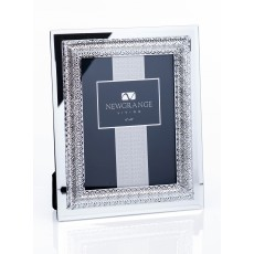 "Newgrange Living Lattice 6"" x 8"" Photo Frame In Fabric Lined Box"