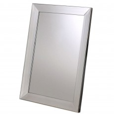 Gallery Modena Rectangle Mirror Silver