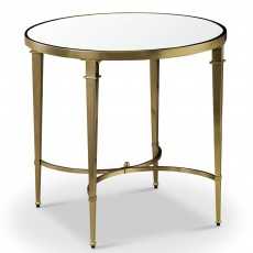 Mindy Brownes Waverly Side/Lamp Table Gold