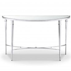 Mindy Brownes Adley Console Table Chrome