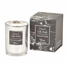 Torc Limited Edition Cocoa & Cedar Woods Candle Filled Tumbler 10cm