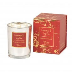 Torc Limited Edition Cinnamon & Log-Fire Candle Filled Tumbler 10cm