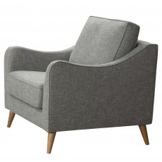 Culloden Armchair Fabric Light Grey