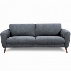 Beagle 2 Seater Sofa Fabric Grey