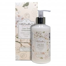 Celtic Candles Classic Lime, Basil & Mandarin Hand &  Body Lotion 250ml
