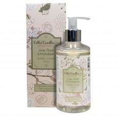 Celtic Candles Classic Lime, Basil & Mandarin Hand Soap 250ml