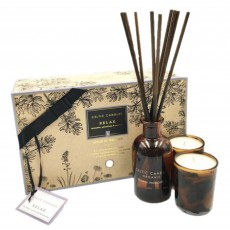 Celtic Candles Organic Relax Gift Set