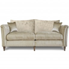 Beaulieu 2.5 Seater Standard Back Sofa With Studs Fabric A