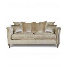 Beaulieu 2.5 Seater Scatter Back Sofa With Studs Fabric A