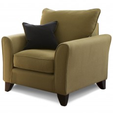 Collins & Hayes Ellison Armchair With Removable Covers Fabric A
