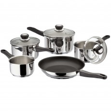 Judge Vista 5 Piece Non-Stick Draining Saucepan Set