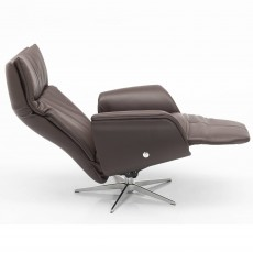 Hjort Knudsen Seine Medium Electric Reclining Armchair Semi(S) Leather