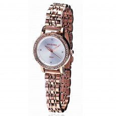 Newgrange Living Diamond Bezel Ladies Watch Rose Gold