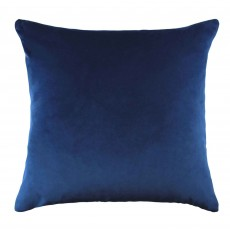 Scatter Box Lennox Cushion 43cm x 43cm Navy & Ochre