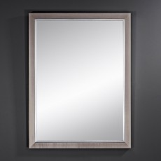 Deknudt Bremen Rectangle Wall Mirror Dark
