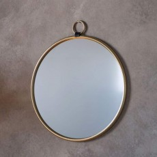 Gallery Bayswater Mirror Gold