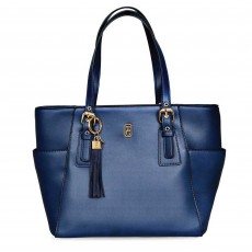 Tipperary Crystal Grafton Tote Bag Navy