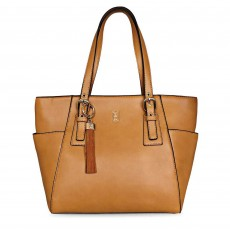 Tipperary Crystal Grafton Tote Bag Tan
