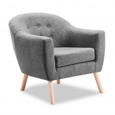 Eastnor Armchair Fabric Grey