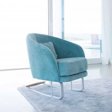 Fama Komba Rocking Armchair Fabric Series 6