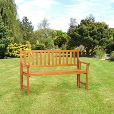 Royalcraft St Andrews 3 Seater Folding Bench Acacia