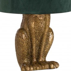 Hill Interiors Antique Hare Table Lamp Gold
