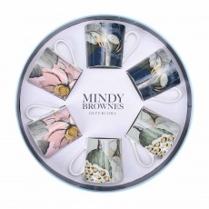 Mindy Brownes Nature's Bloom Mugs (Set of 6) Multi-Coloured
