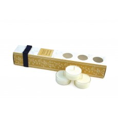 Tipperary Crystal Precious Woods Tealights Set of 12