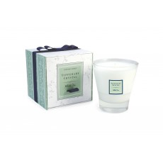 Tipperary Crystal White Tea Candle Filled Glass Tumbler