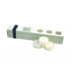 Tipperary Crystal White Tea Tealights Set of 12