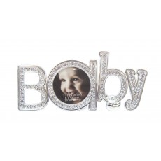 Tipperary Crystal 'Baby' Diamante Baby Photo Frame