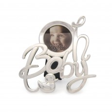 Tipperary Crystal 'Oh Baby' Baby Photo Frame