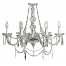 Tipperary Crystal Eva 6 Arm Chandelier