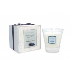 Tipperary Crystal French Linen Candle Filled Glass Tumbler
