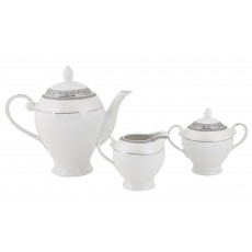 Tipperary Crysyal Merrion Collection 3 Piece Tea Set