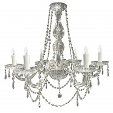 Tipperary Crystal Clarissa 6 Arm Chandelier