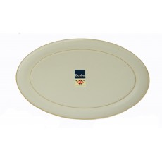 Denby Linen Oval Serving Platter