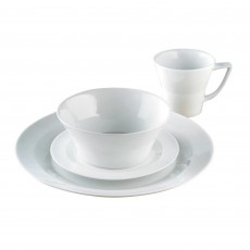James Martin Everyday 16 Piece Boxed Dinner Set White
