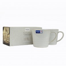 Denby Natural Canvas 2 Piece Mug Set