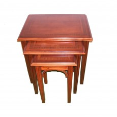 Imperial Mahogany Nest Of Tables (3)