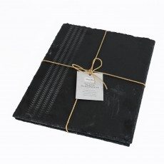 Denby Natural Canvas Set of 2 Placemats Slate