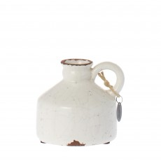 Riverdale Saintes White 12cm Jar