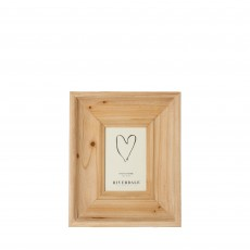 "Riverdale Brooklyn Natural 4"" x 6"" Photo Frame"